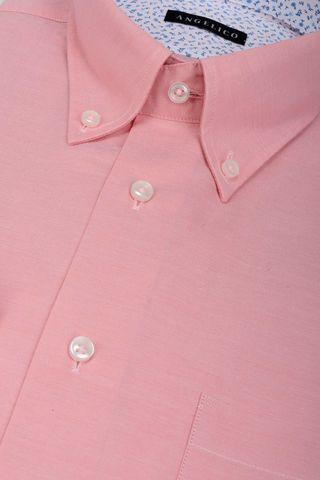 camicia rosa bd e taschino Angelico