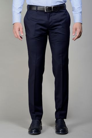 blue trousers 100s slim four seasons Angelico