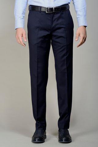 Pantalone blu 100s four seasons Angelico