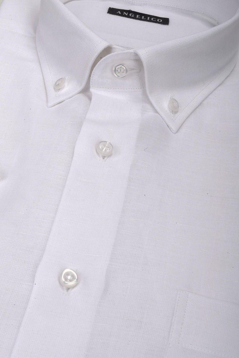 finest selection 46748 24ca0 Camicia bianca maniche corte BD Angelico