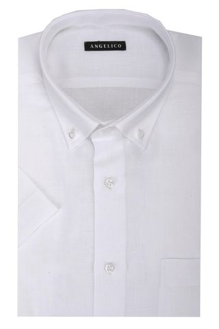 White shirt short sleeves BD Angelico