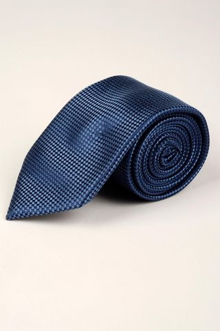 cravatta avio seta operata rombi Angelico