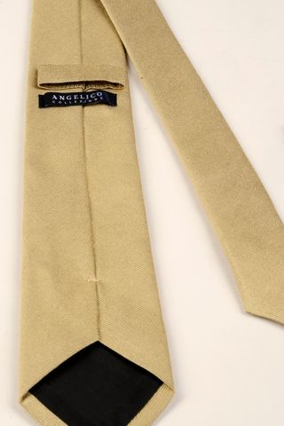 gold silk tie Angelico