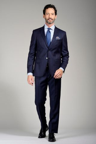 navy suit regular Angelico