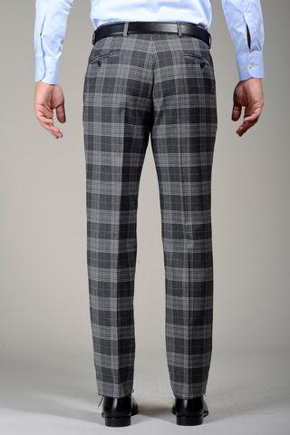 pantalone grigio galles Angelico