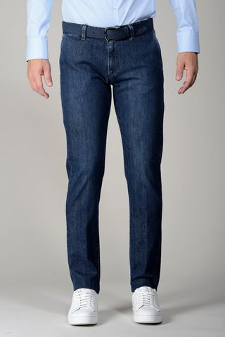 blue jeans american pockets slim Angelico