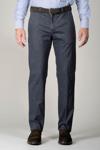 pantalone blu twill tc Angelico