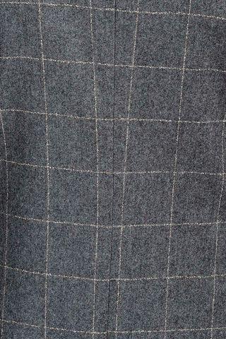 abito grigio quadro slim flanella sfoderato Angelico