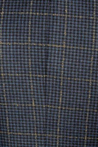 giacca blu quadri beige slim Angelico