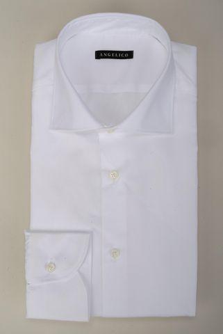 Camicia bianca giro inglese slim Angelico