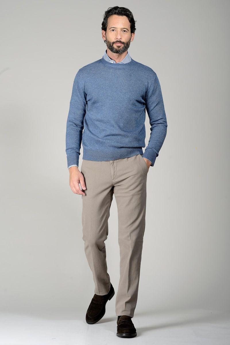 girocollo blue jeans lana-cashmere Angelico