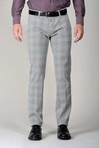 Pantalone grigio Galles tc slim Angelico