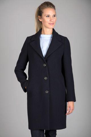 cappotto blu notte lana Angelico