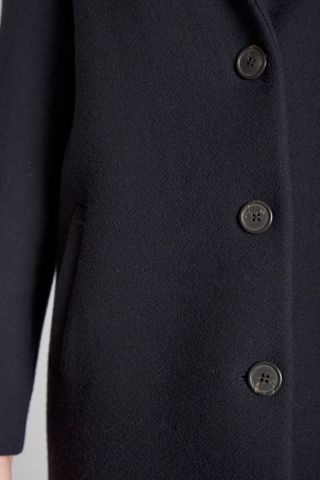 navy blue coat Angelico