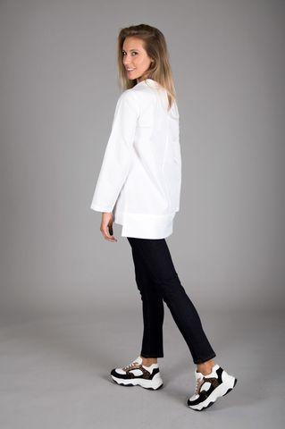 Camicia bianca collo ciambella Angelico