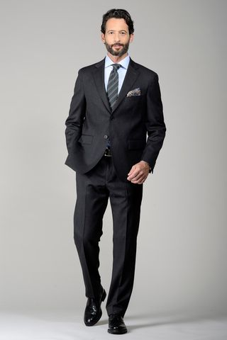 dark grey suit 100s comfort Angelico