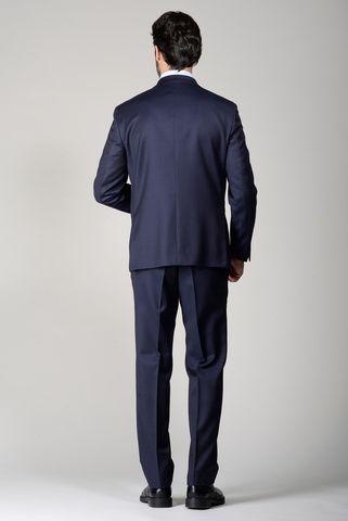 abito blu scuro sallia 100s comodo Angelico