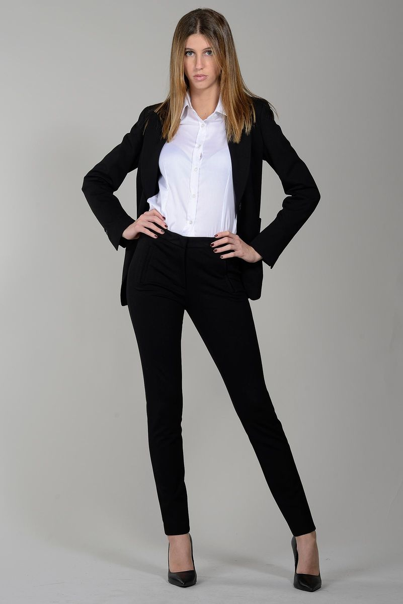 black jacket 1 button Angelico