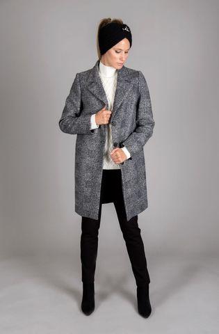 cappotto grigio quadri 3 bottoni Angelico