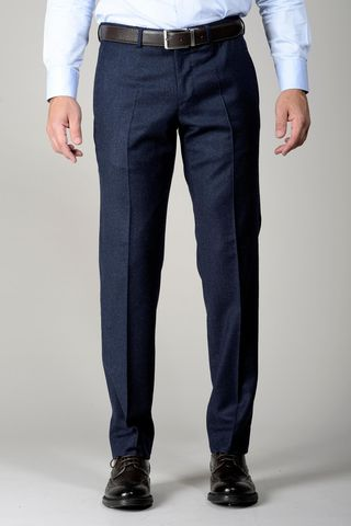 Pantalone avio flanella stretch Angelico
