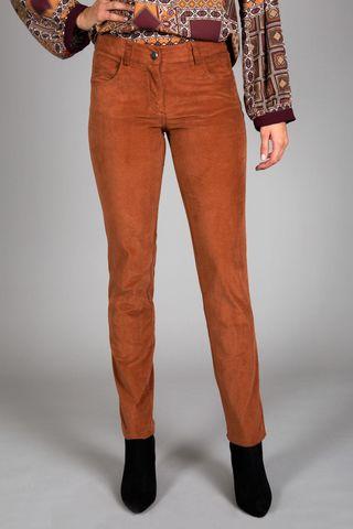 Jeans mattone fustagno stretch Angelico
