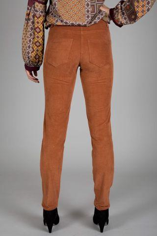 pantalone coccio fustagno stretch Angelico