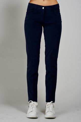 Jeans blu fustagno stretch Angelico
