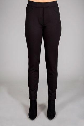 pantalone nero a fuseaux Angelico