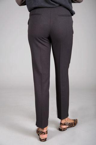 pantalone antracite sigaretta stretch Angelico