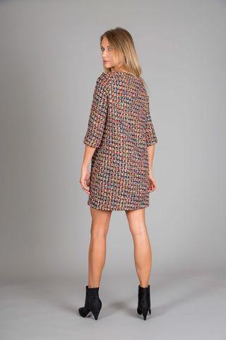 abito donna multicolor intrecci Angelico