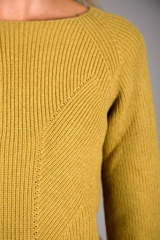 ocher sweater merinos wool Angelico