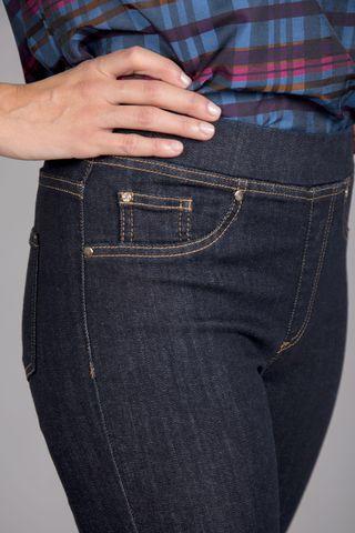 jeans fuseaux blu Angelico