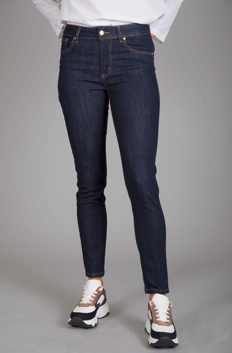 jeans blu skinny elasticizzato Angelico