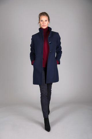 cappotto blu coreano Angelico
