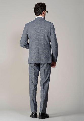 abito grigio chiaro galles Angelico
