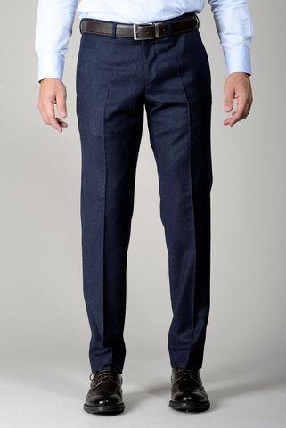 Pantalone avio flanella stretch comodo Angelico