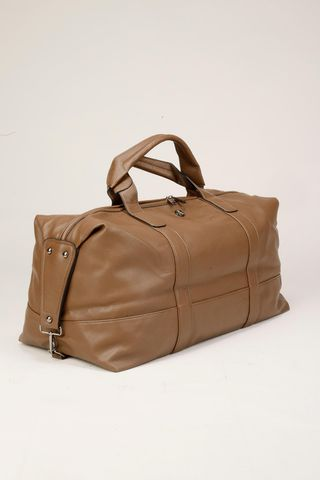 brown traveller bag Angelico