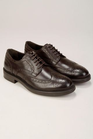 brown oxford shoes Angelico