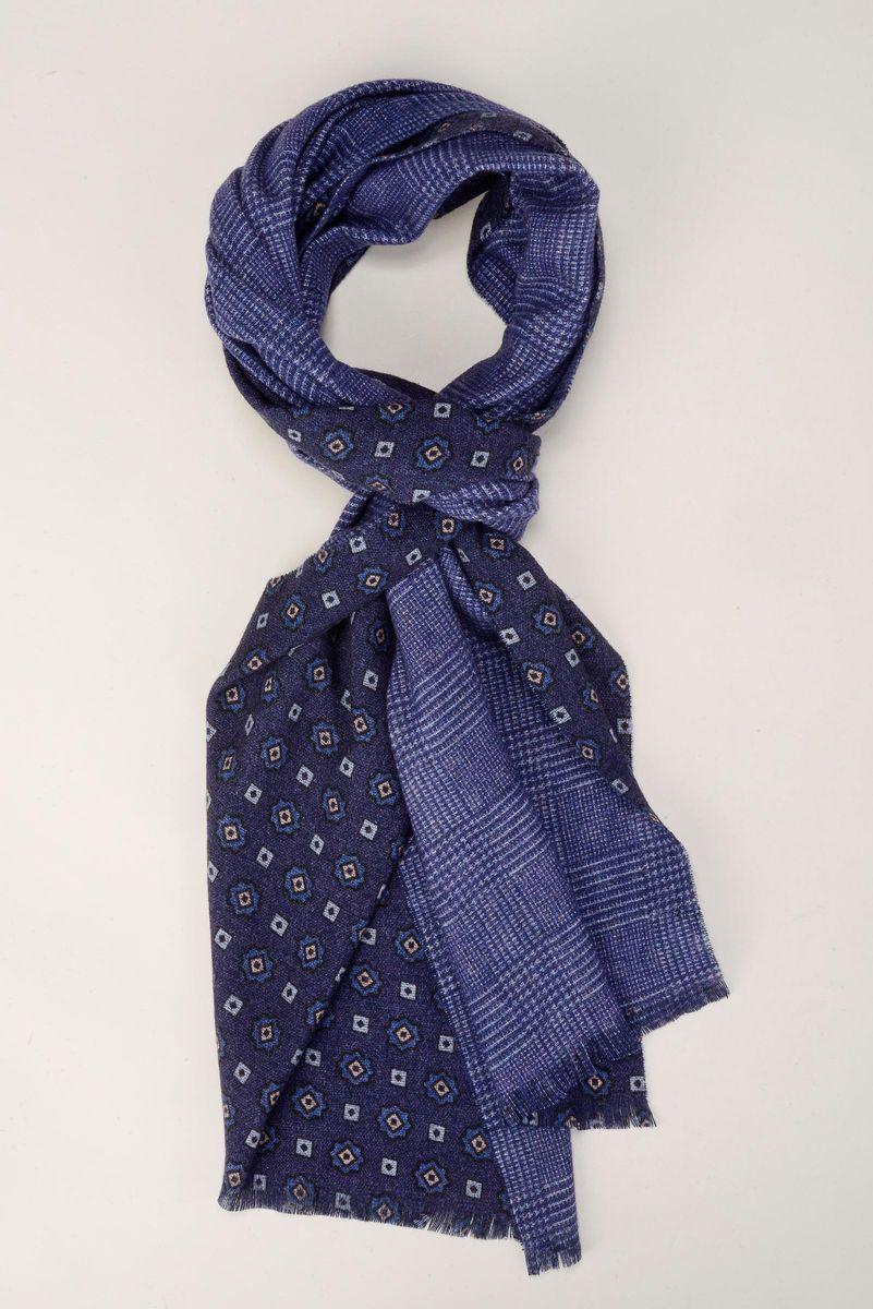 sciarpa viola double fantasia e galles Angelico
