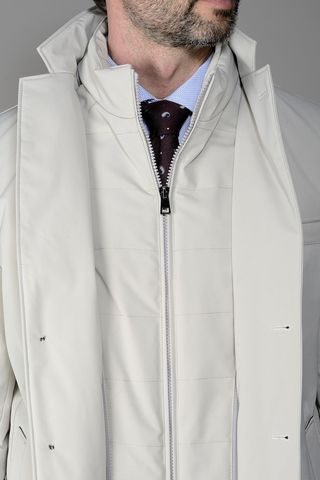 ice technical coat with bib Angelico