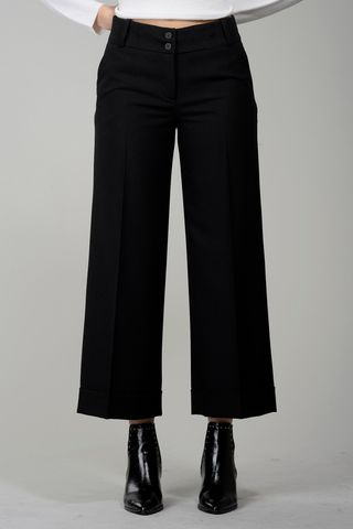 black cropped trousers Angelico