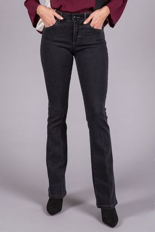 black boot stretch jeans Angelico