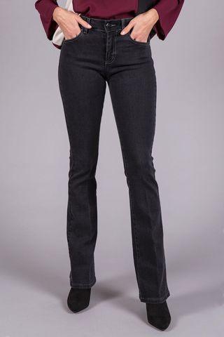 jeans nero boot elasticizzato Angelico