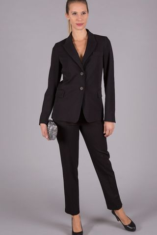 black trouser suit Angelico
