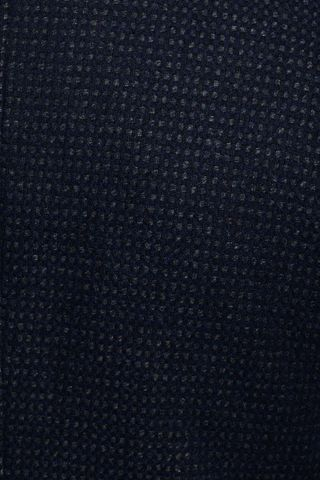 fancy black-blue coat with bib Angelico
