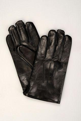 guanti neri in nappa Angelico
