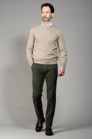 maglia beige puro cashmere Angelico