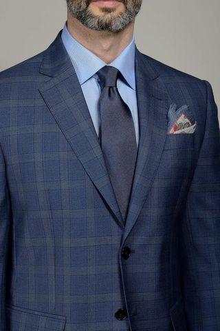 abito blu galles 100s Angelico