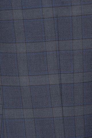 abito blu quadri 100s Angelico