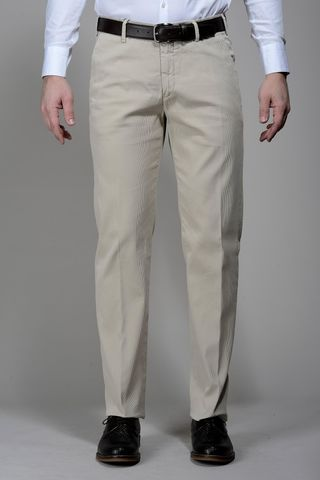 pantalone beige cannete tc stretch Angelico